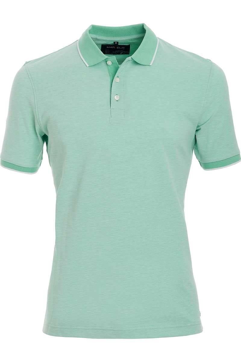 Marvelis Poloshirt lindgrün, Einfarbig