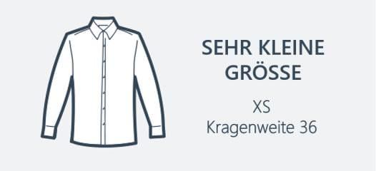 XS Hemden für kleine Männer