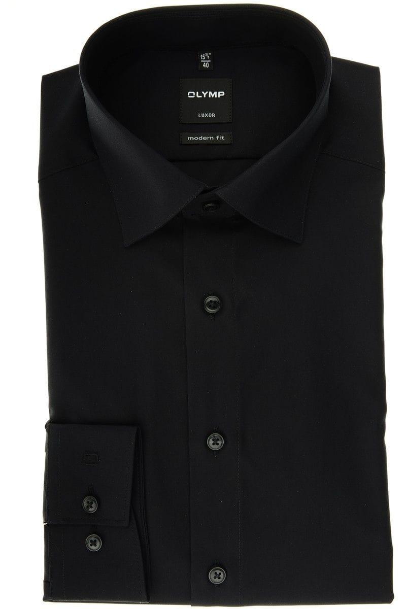 olymp slim line hemd in langarm 64cm schwarz. Black Bedroom Furniture Sets. Home Design Ideas