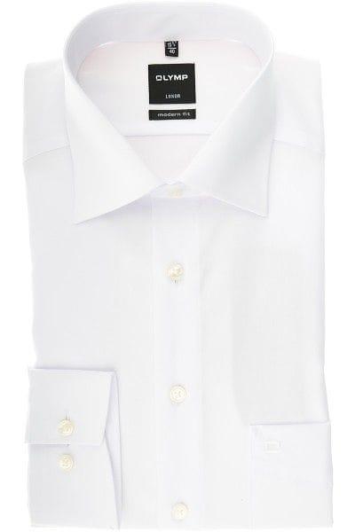 Olymp Slim Line - Hemd in Extra langer Arm (69cm), weiss, Einfarbig ... 103d507d28