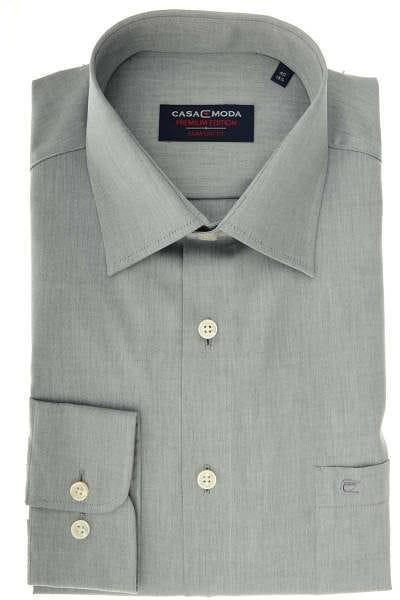 Casa Moda Comfort Fit Hemd grau, Einfarbig