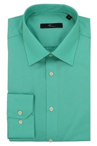 Venti Hemd - Modern Fit - mint, Einfarbig