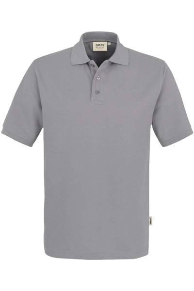 HAKRO Comfort Fit Poloshirt grau, Einfarbig