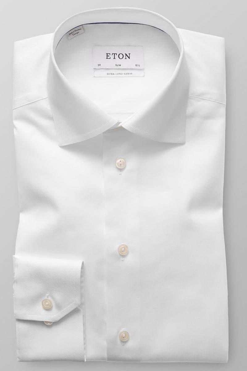 ETON Slim Fit shirt white, One Colour