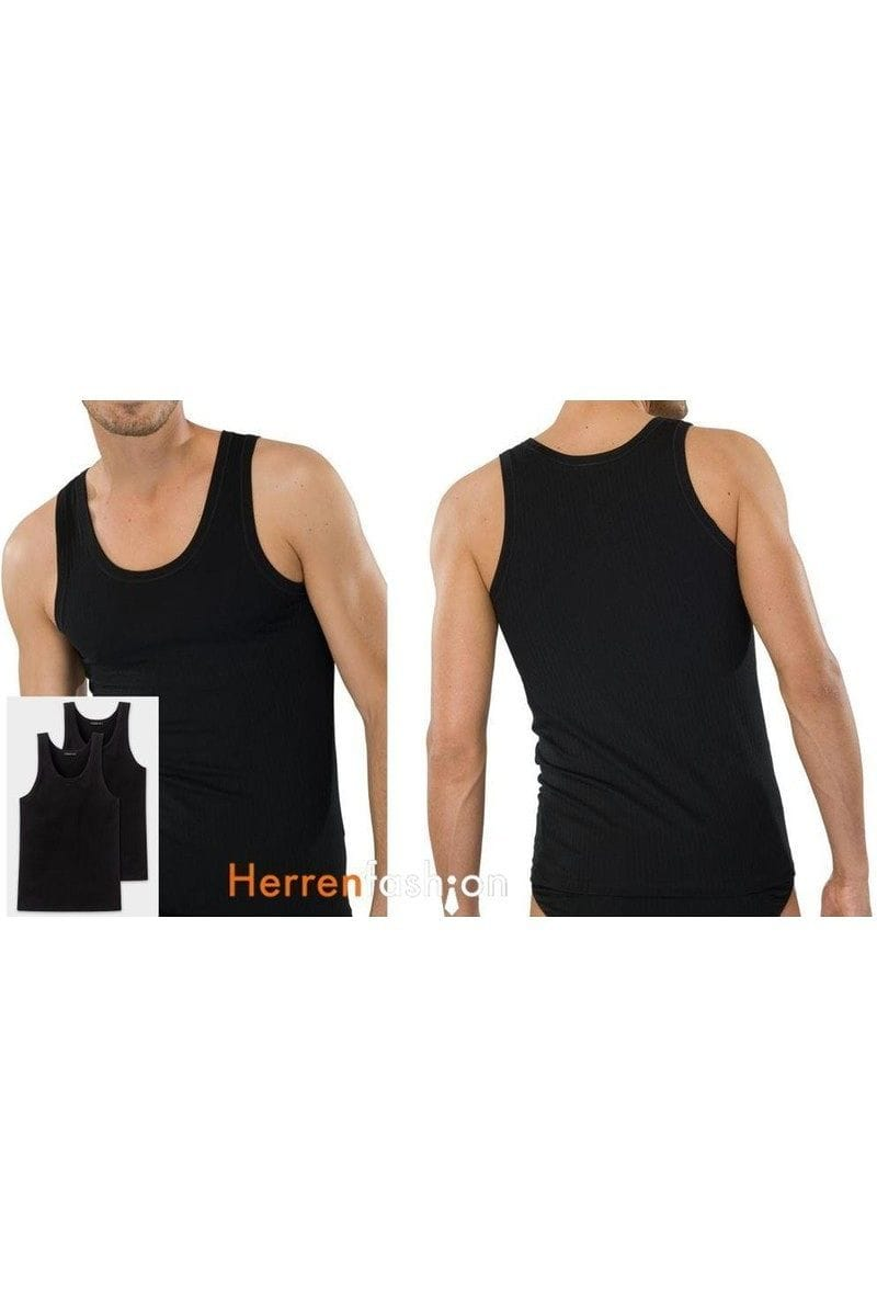 Schiesser T-Shirt - T-Shirt Original Classics - black