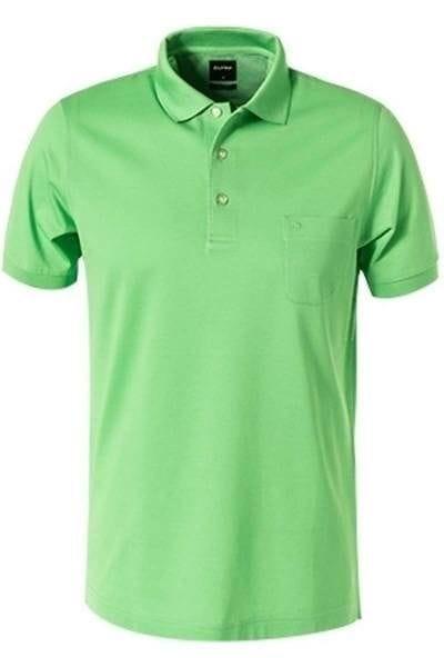 Olymp Modern Fit Poloshirt limone, Einfarbig