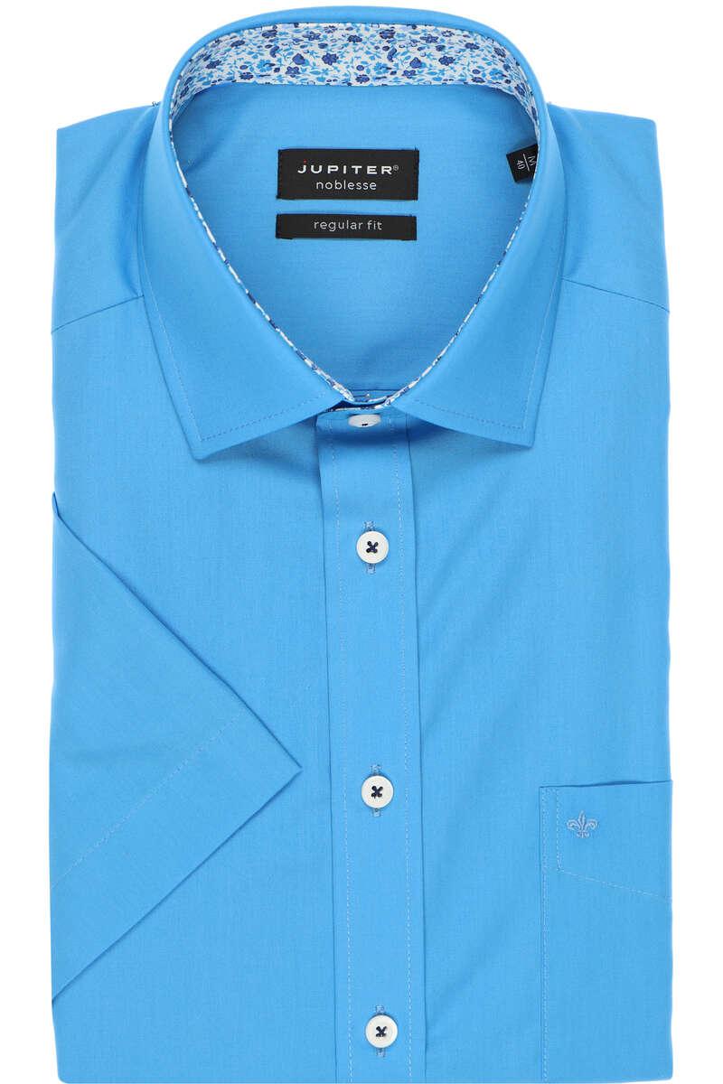 Jupiter Regular Fit Hemd aqua, Einfarbig 48 - 3XL