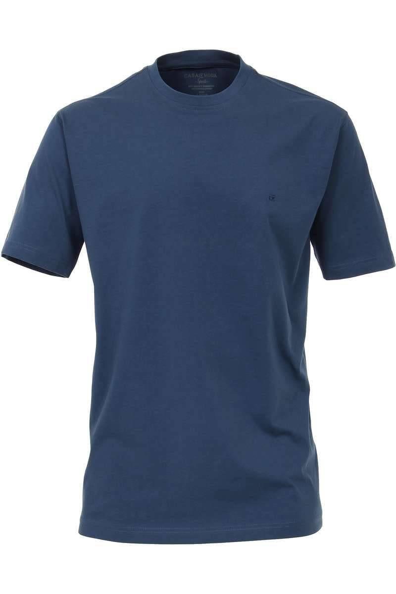 Casa Moda T-Shirt dunkelblau, Einfarbig