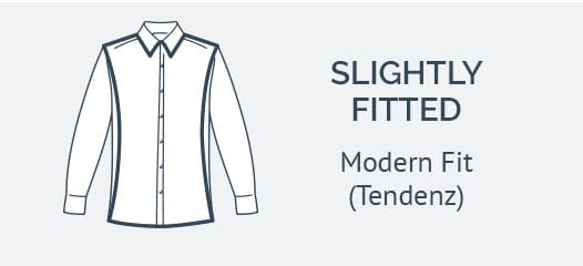 OLYMP Modern fit shirts Tendenz