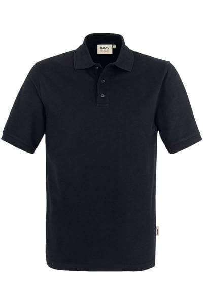 HAKRO Comfort Fit Poloshirt schwarz, Einfarbig