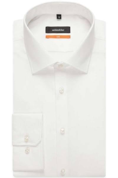 Seidensticker Hemd - Slim Fit - beige, Einfarbig