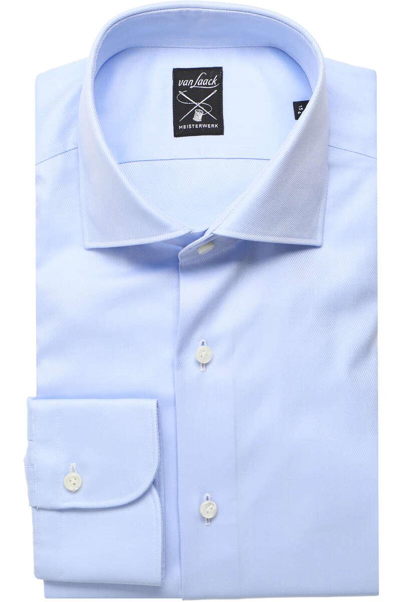 Van Laack Tailor Fit Hemd sky, Einfarbig 40 - M