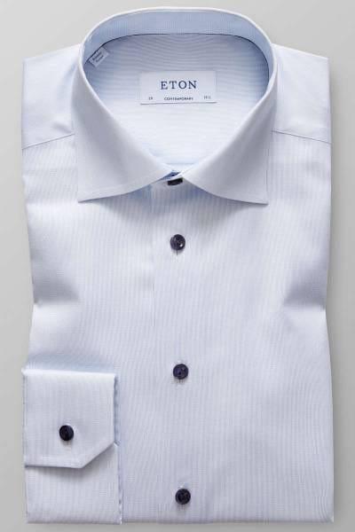 ETON Contemporary Fit Hemd bleu, Einfarbig