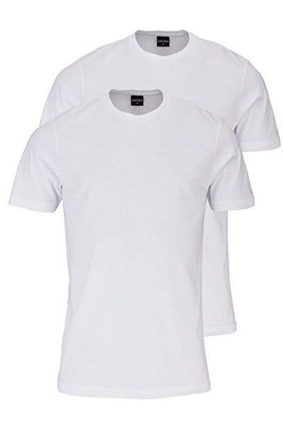 Marvelis T-Shirt - Rundhals - weiss, Einfarbig