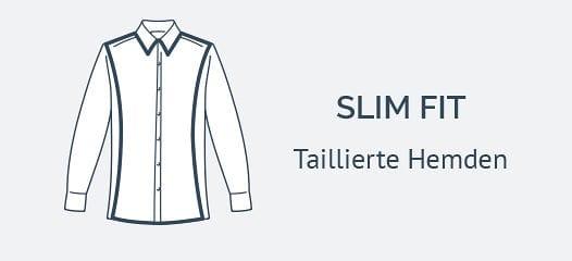Taillierte Hemden