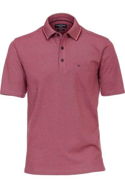 Casa Moda Poloshirt violett, melange