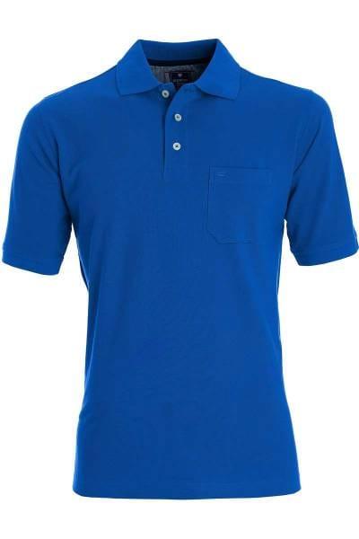 Redmond Casual Poloshirt royal, Einfarbig