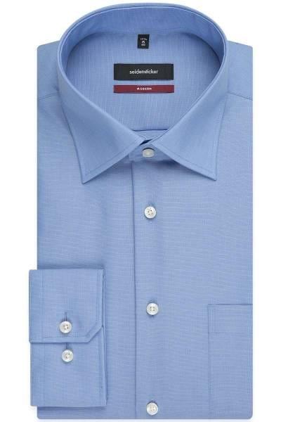 Seidensticker Hemd - Modern Fit - hellblau, Einfarbig