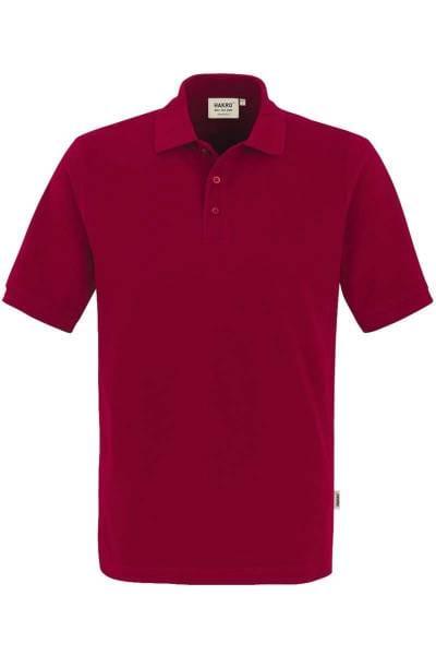 HAKRO Regular Fit Poloshirt weinrot, Einfarbig