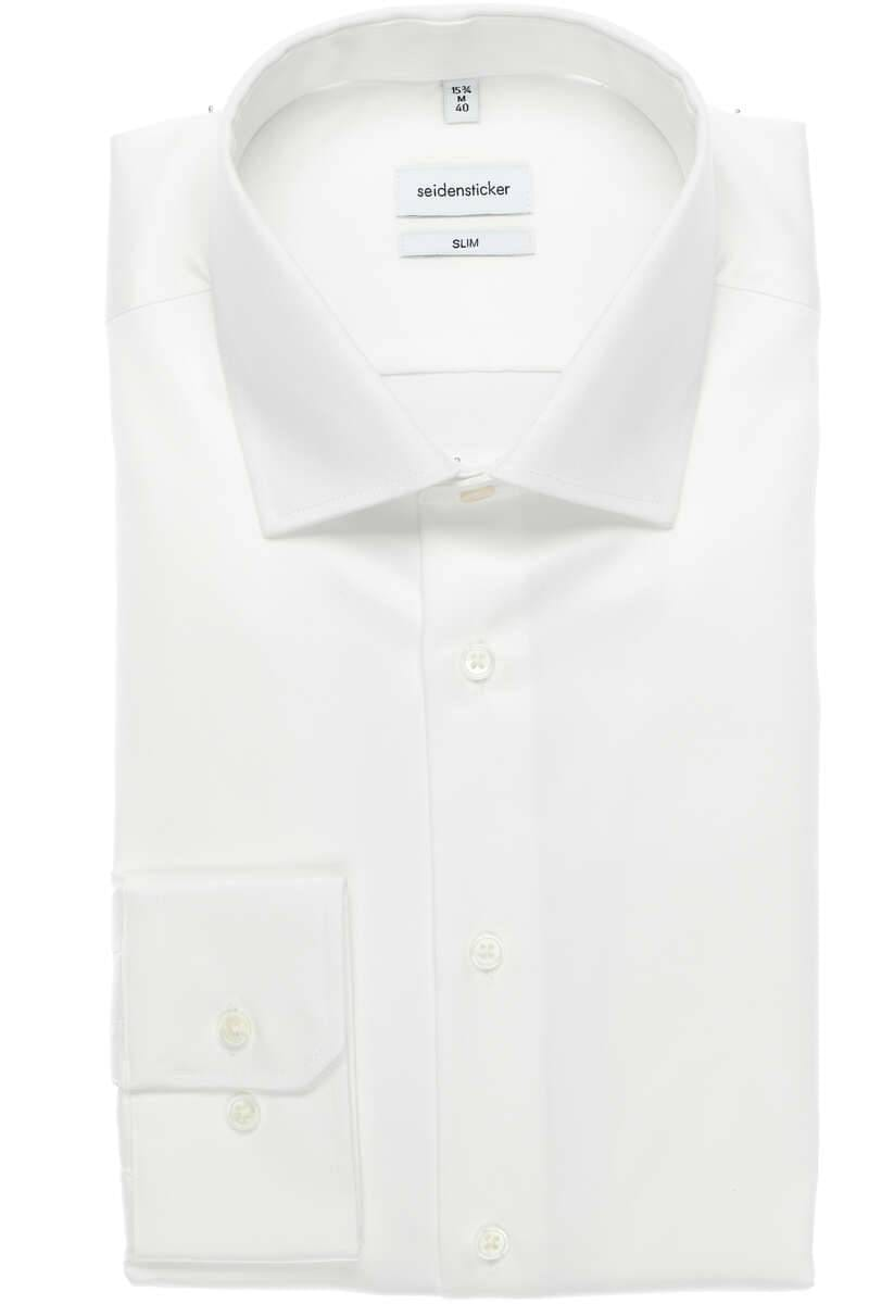 Seidensticker hemd slim fit weiß