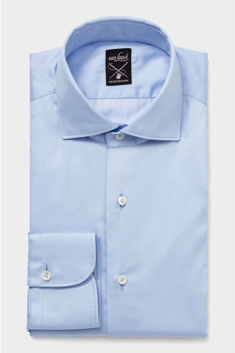 van Laack Meisterwerk Tailor Fit Hemd hellblau, Einfarbig 40 - M