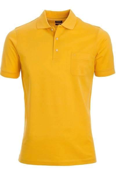 Olymp Poloshirt - Polo - gelb, Einfarbig