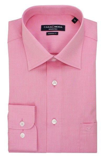 Casa Moda Hemd - Modern Fit - rosa, Einfarbig