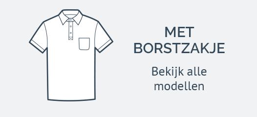 Poloshirts met Borstzak