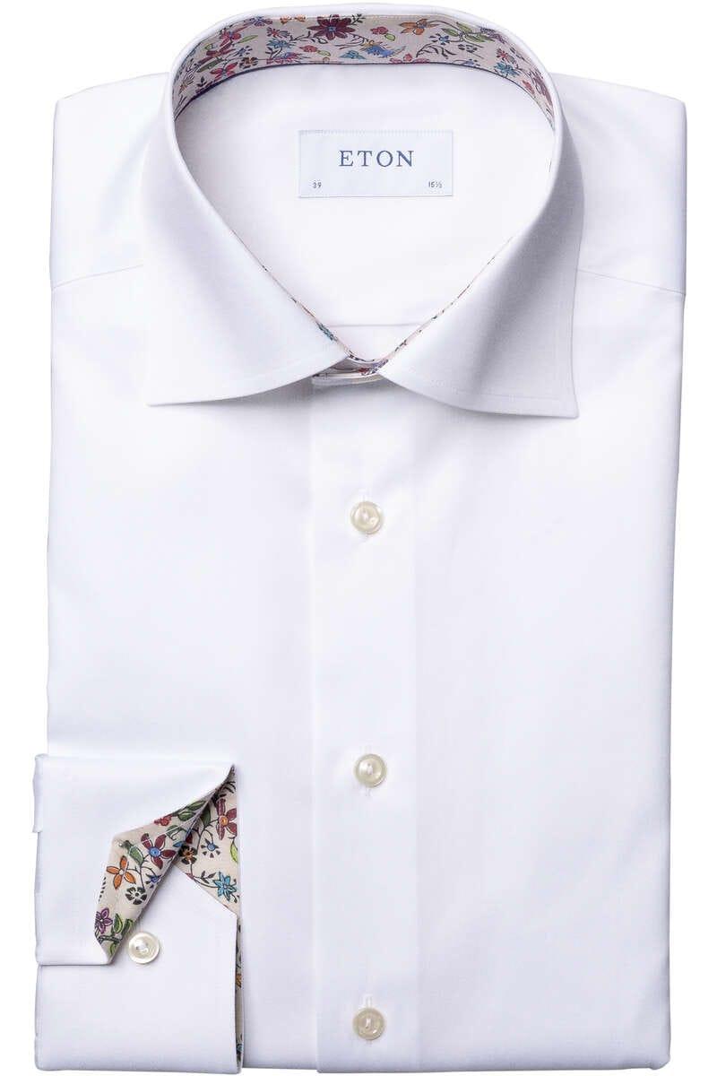 ETON Super Slim Hemd weiss, Einfarbig 38 - S
