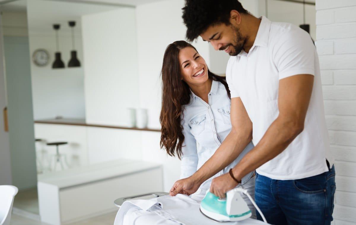 Hemden richtig bügeln