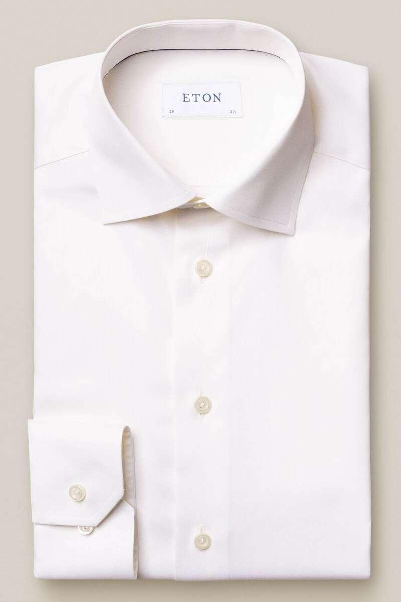 ETON Contemporary Fit Hemd beige, Einfarbig 40 - M