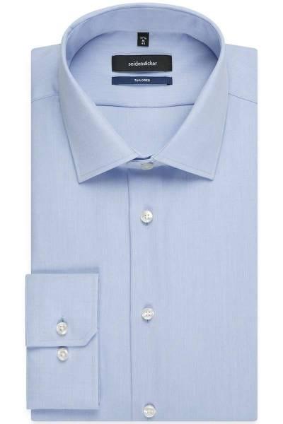 Seidensticker Hemd - Tailored - hellblau, Einfarbig