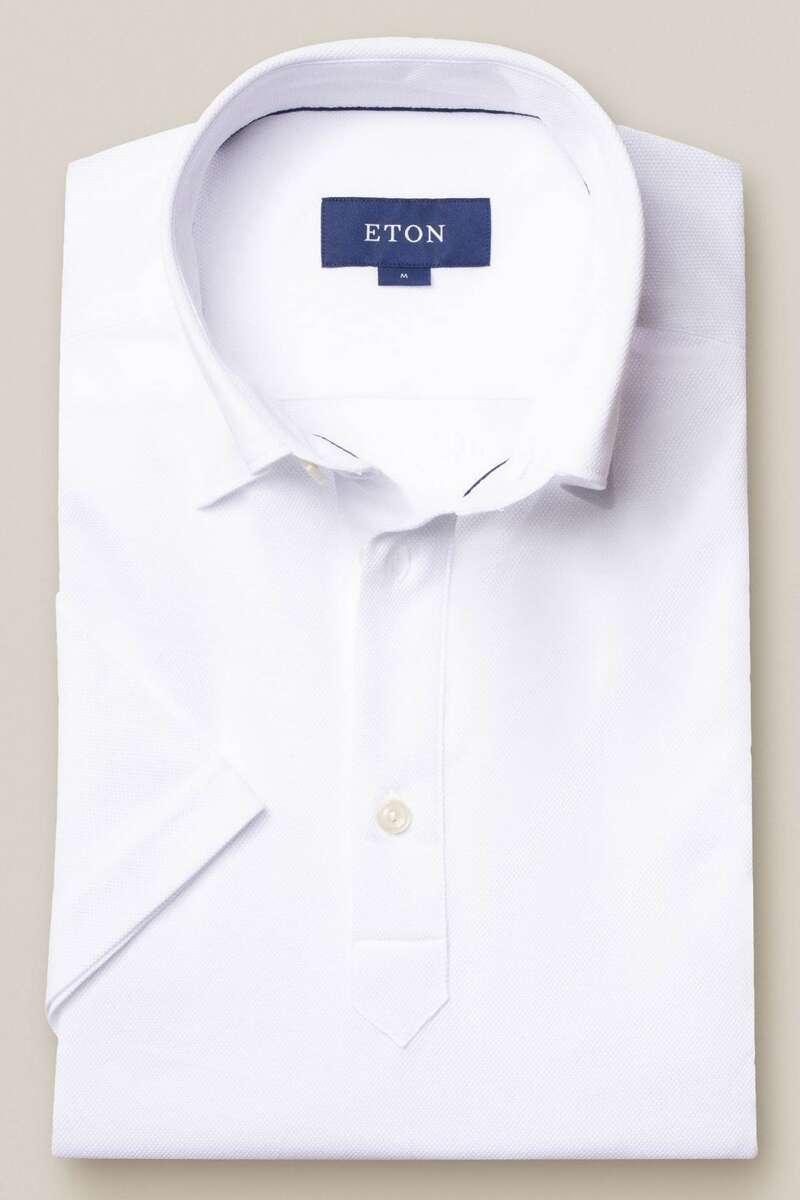 ETON Contemporary Fit Poloshirt weiss, Einfarbig M