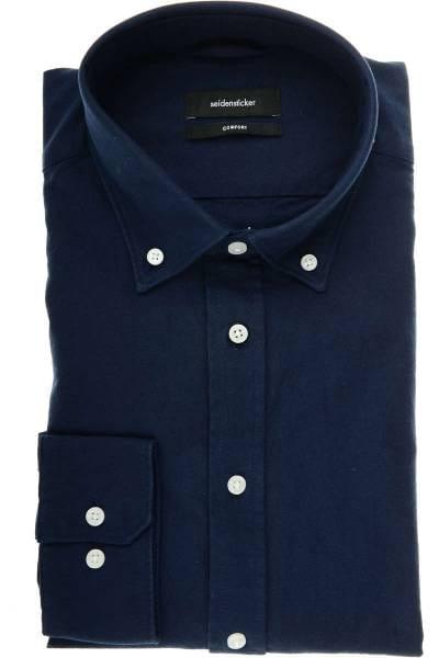 Seidensticker Smart Business Comfort Fit Hemd jeans, Einfarbig