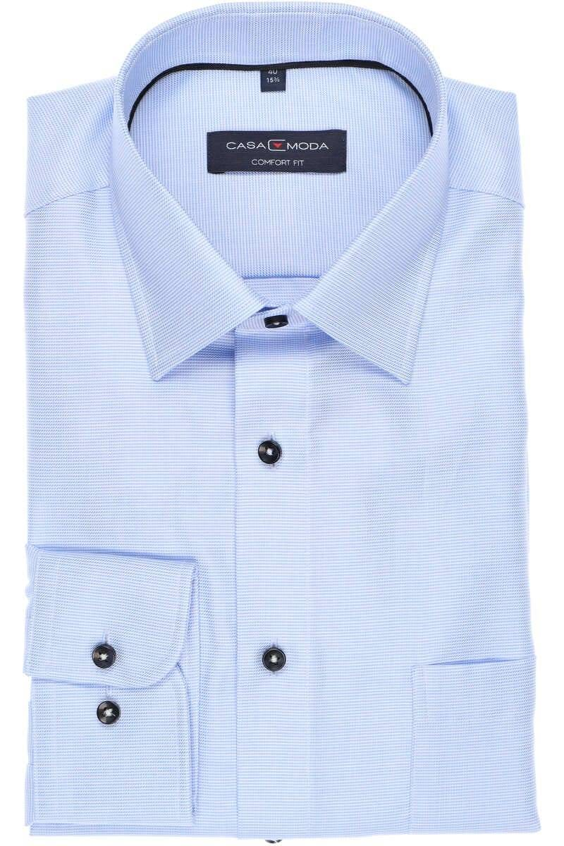 Casa Moda Comfort Fit Hemd blau, Faux-uni