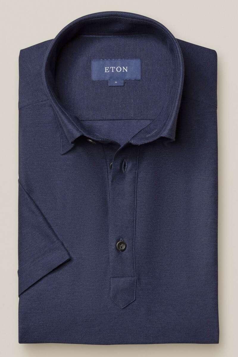 ETON Contemporary Fit Poloshirt dunkelblau, Einfarbig M