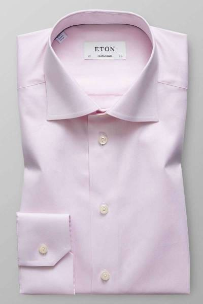 ETON Contemporary Fit Hemd rosa, Einfarbig