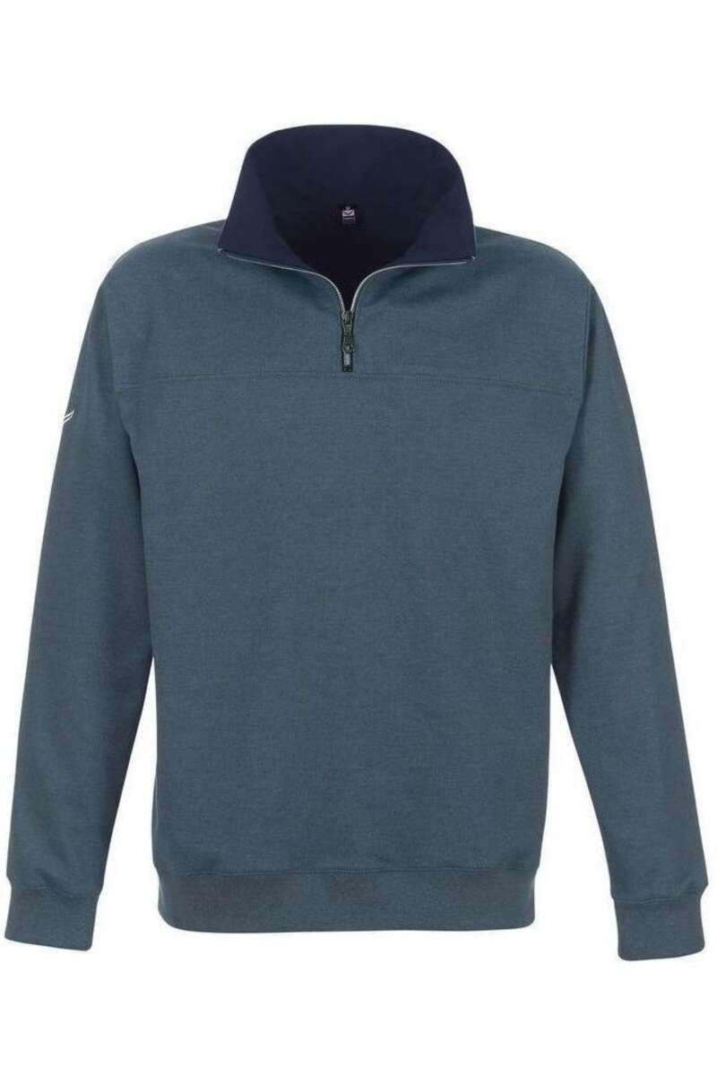 TRIGEMA Comfort Fit Sweatshirt jeans, melange M