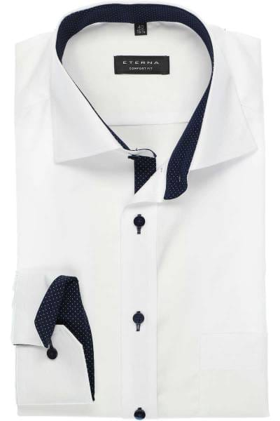 brand new 2d089 80f29 ETERNA Comfort Fit shirt white, One Colour
