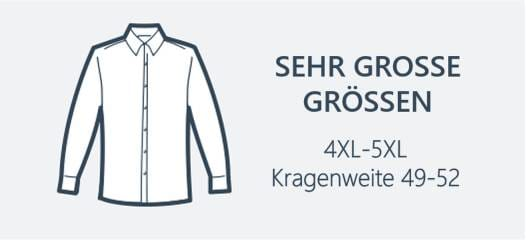 Hemden Übergrößen 4XL-5XL