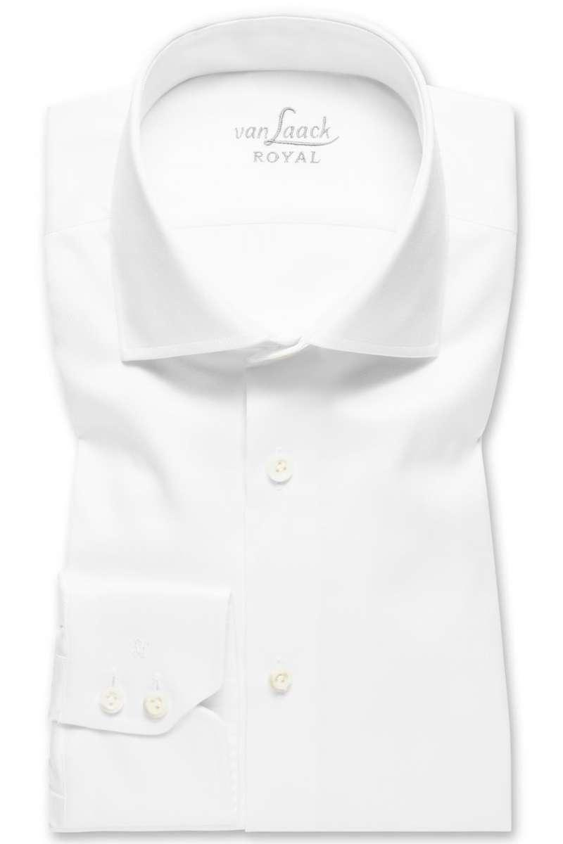 van Laack Slim Fit Hemd weiss, Einfarbig 38 - S