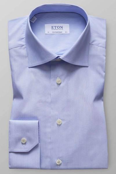 ETON Contemporary Fit Hemd hellblau/weiss, Feinstreifen