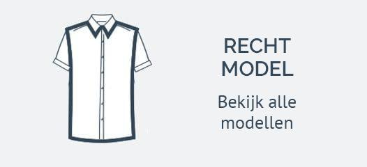Korte Mouw Shirts Recht Model
