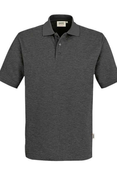 HAKRO Comfort Fit Poloshirt anthrazit, Meliert