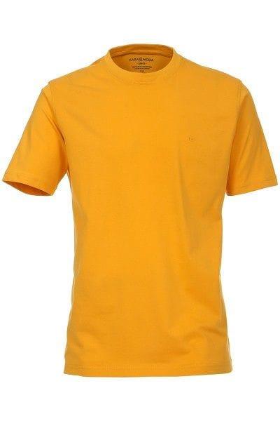 Casa Moda T-Shirt - Rundhals - gelb, Einfarbig