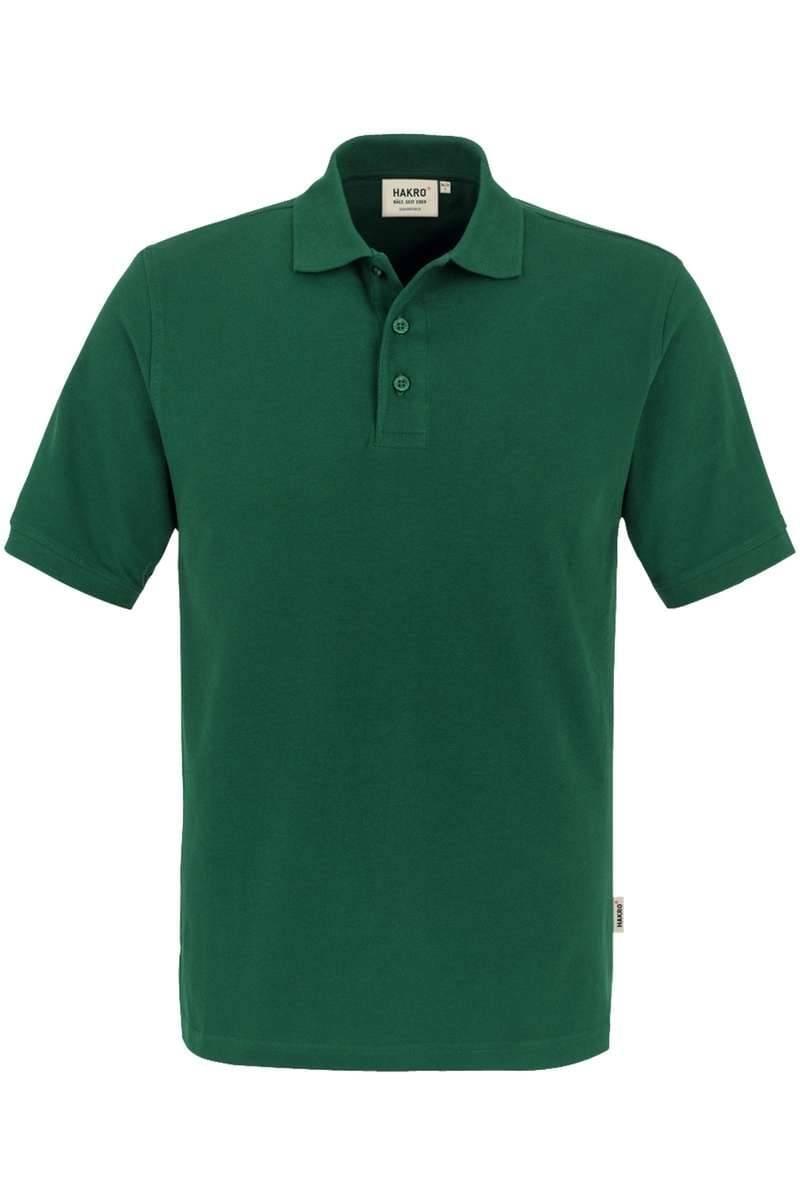 HAKRO Regular Fit Poloshirt dunkelgrün, Einfarbig
