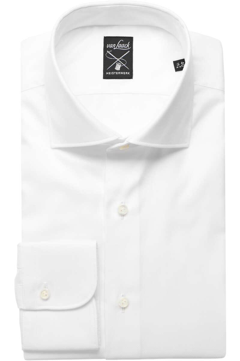 Van Laack Tailor Fit Hemd weiss, Einfarbig 40 - M