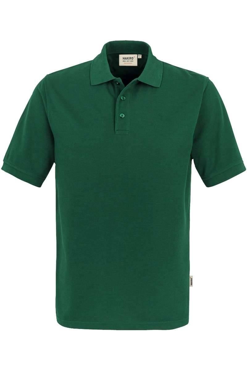 HAKRO Comfort Fit Poloshirt dunkelgrün, Einfarbig