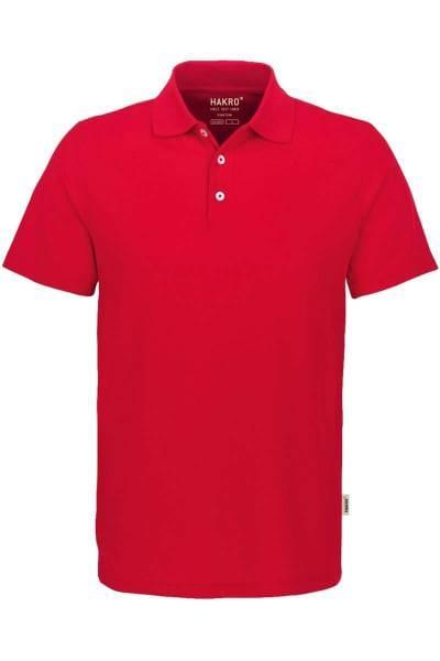 HAKRO COOLMAX PRO Regular Fit Poloshirt rot, Einfarbig