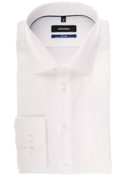 Seidensticker Tailored Hemd weiss, Strukturiert